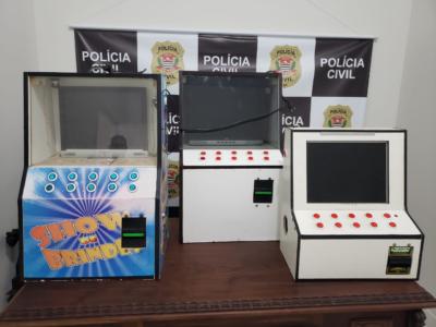 Operação desmantela esquema de jogos ilegais