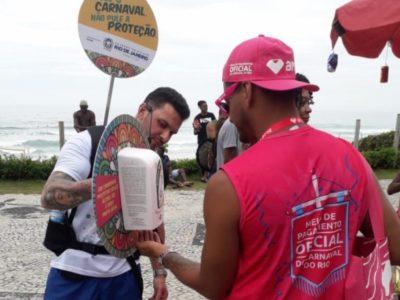 Rio distribui preservativos no carnaval