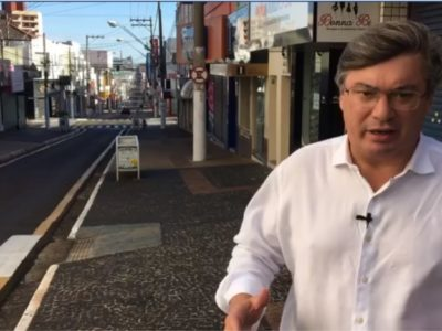 Daniel Alonso 'desafia' presidente a 'autorizá-lo' a reabrir o comércio