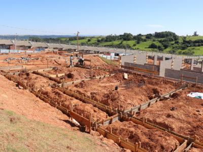 Obras das escolas nos residenciais Maracá e Montana seguem avançadas