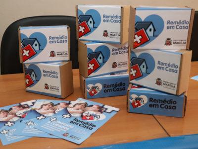 Programa 'Remédio em Casa'  é lançado oficialmente