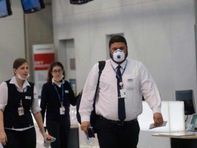 Coronavírus muda rotina em aeroportos do Brasil