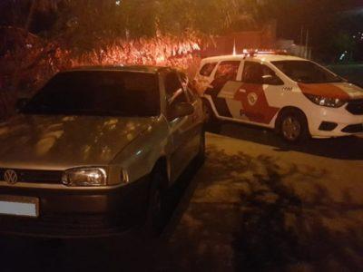 Veículo furtado na zona Sul é  recuperado após ação da PM