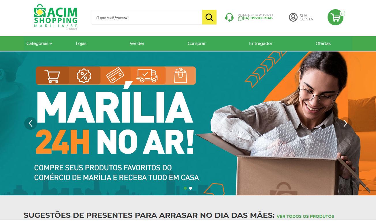 Acim Shopping Marília é alternativa  para compras no Dia das Mães