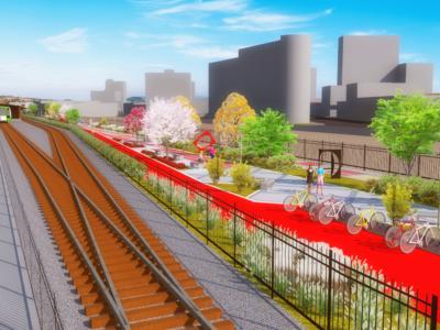 Construção de ciclovia paralela aos trilhos da linha férrea é aprovada