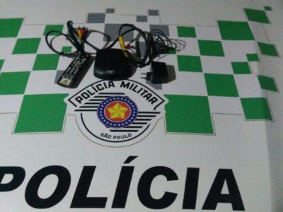 Polícia Ambiental detém homem com objetos furtados de hotel