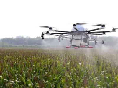 Aplicação de biológicos por drone gera lucro