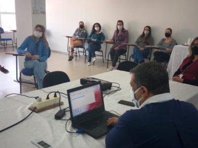 Secretaria de Saúde de Bauru treina  servidores para aplicação de testes rápidos