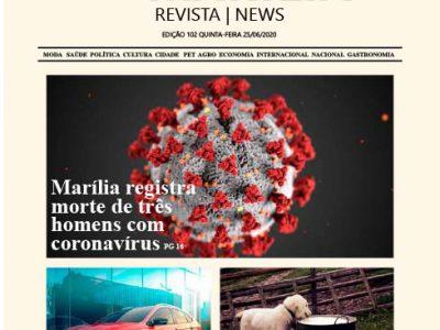 D MARÍLIA REVISTA | NEWS – EDIÇÃO 25-06-2020 – QUINTA-FEIRA