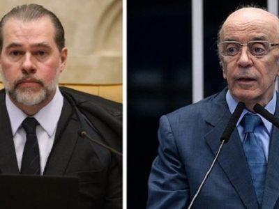 Toffoli suspende busca no gabinete de Serra no Senado