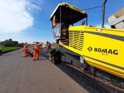 Obras no pavimento alteram tráfego na SP 294 na região