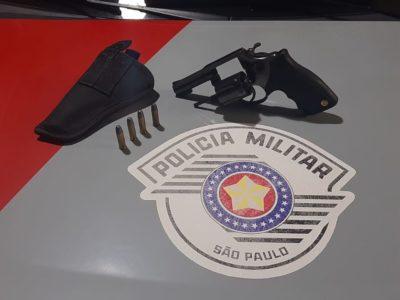 Homem é preso por posse ilegal de arma de fogo em Padre Nóbrega