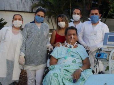 Programa de Cuidado Centrado na Pessoa garante alta de paciente do SUS internado há 7 meses na Santa Casa