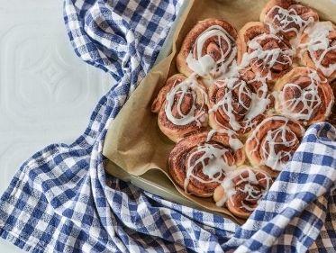Cinnamon Roll para aquecer seu lanche da tarde