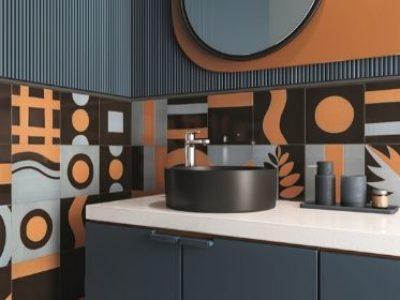 Inspire-se com banheiros revestidos