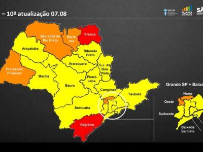 Governo de SP reclassifica Marília na fase amarela