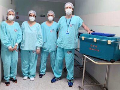 Equipe do HC realiza captação múltipla de órgãos em paciente de Presidente Prudente