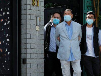 Magnata de mídia Jimmy Lai é preso sob lei de segurança em Hong Kong