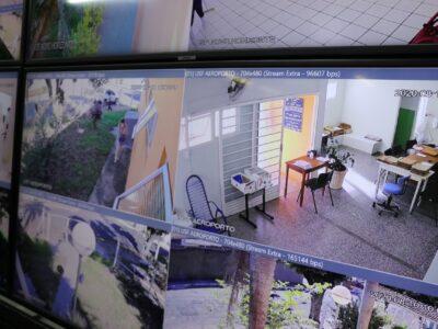 Central Operacional de Videomonitoramento do Programa Ronda Azul é ampliado na cidade