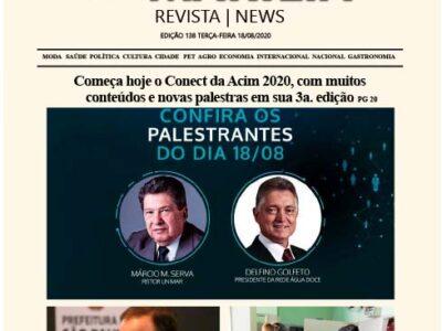 D MARÍLIA REVISTA|NEWS – EDIÇÃO 18-08-2020 – TERÇA-FEIRA