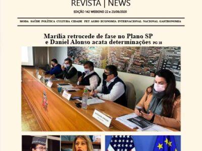 D MARÍLIA REVISTA|NEWS – EDIÇÃO WEEKEND – 22 E 23/08/2020