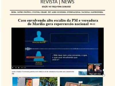 D MARÍLIA REVISTA|NEWS – EDIÇÃO 25-08-2020 – TERÇA-FEIRA