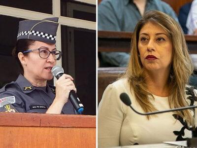 Vereadora Professora Daniela presta depoimento na PM sobre a 'carteirada'