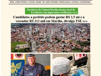 D MARÍLIA REVISTA|NEWS – EDIÇÃO WEEKEND – 05 E 06/09/2020