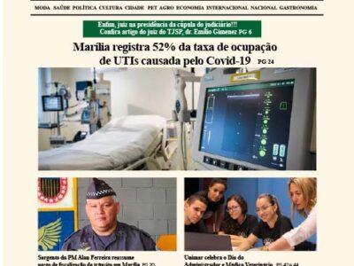 D MARÍLIA REVISTA | NEWS – EDIÇÃO 10-09-2020 – QUINTA-FEIRA