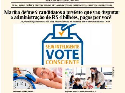 D MARÍLIA REVISTA NEWS – EDIÇÃO 16-09-2020 – QUARTA-FEIRA
