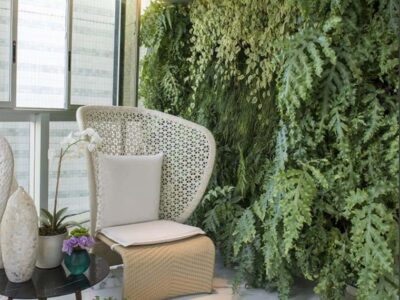 Apoio mental pelas plantas