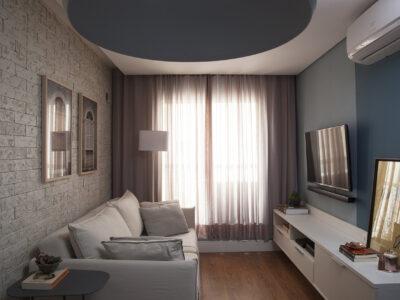 Apartamento de 40 m² ganha reforma para otimizar sua pequena metragem