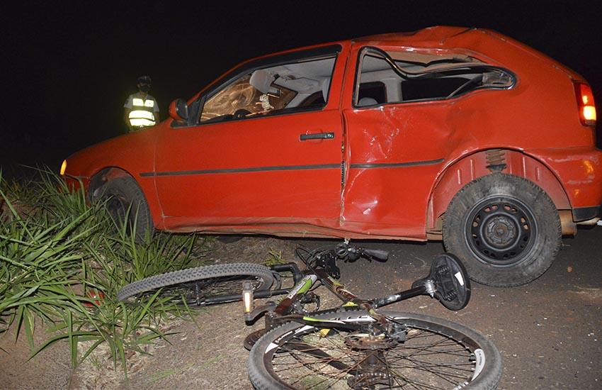 Motorista é preso embriagado após atropelar a casal de ciclistas na região