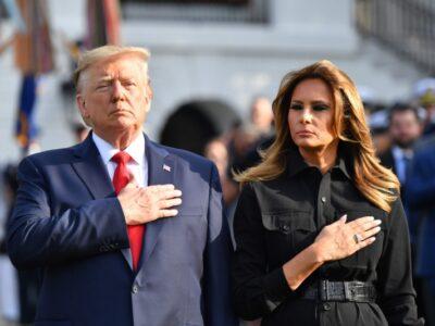Trump e Melania 'estão bem', diz médico da família presidencial