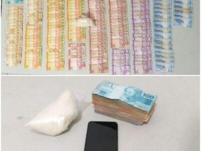 Homem preso por tráfico de drogas estava com R$ 4 mil na cueca na zona Sul