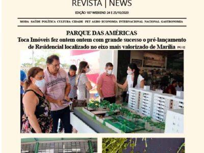 D MARÍLIA REVISTA|NEWS – EDIÇÃO WEEKEND – 24/10/2020