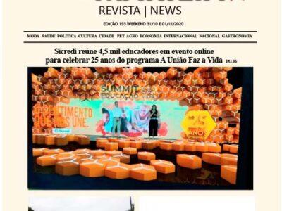 D MARÍLIA REVISTA|NEWS – EDIÇÃO WEEKEND – 31/10 e 01/11/2020