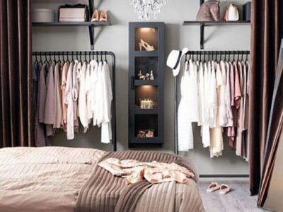 Como organizar o guarda-roupas de forma eficiente
