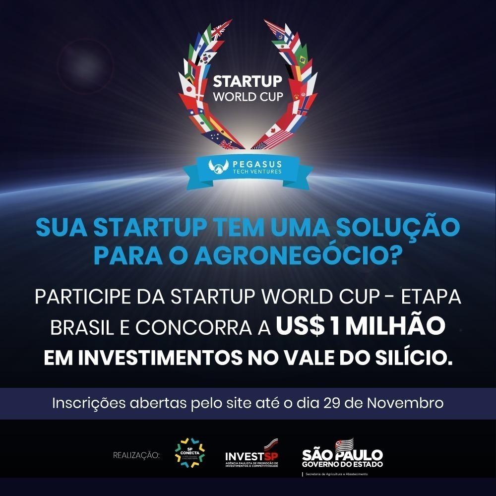 Startups podem concorrer a investimento de US$ 1 milhão no Vale do Silício
