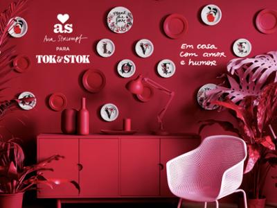 Tok&Stok e designer Ana Strumpf lançam campanha com amor e humor na decoração