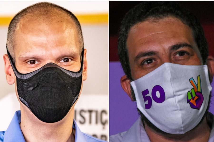 Pesquisa Datafolha para 2º turno em São Paulo:  Bruno Covas tem 48%; Guilherme Boulos, 35%