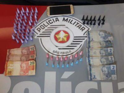 Azaleias tem três prisões por tráfico  de drogas no final de semana