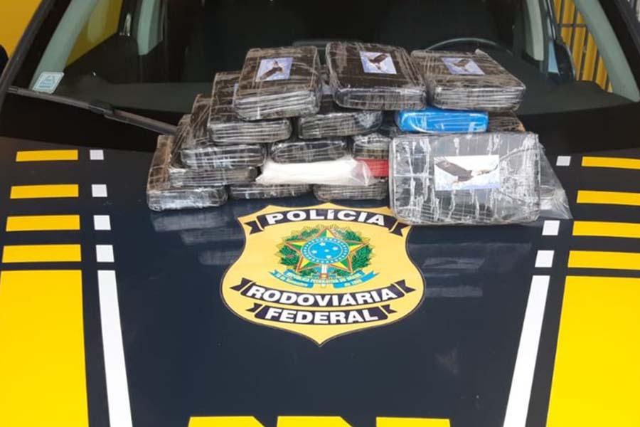 Apreensão de cocaína em Ourinhos gera  prejuízo de R$ 2,5 milhões ao tráfico