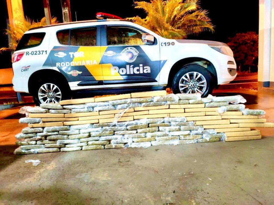 Polícia Rodoviária prende homem por tráfico em Santa Cruz do Rio Pardo