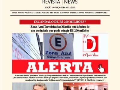 D MARÍLIA REVISTA|NEWS – EDIÇÃO 10-11-2020 – TERÇA-FEIRA