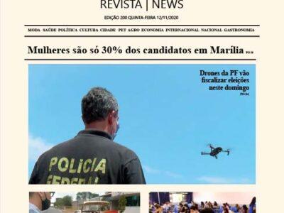 D MARÍLIA REVISTA | NEWS – EDIÇÃO 12-11-2020 – QUINTA-FEIRA