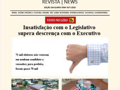D MARÍLIA REVISTA|NEWS – EDIÇÃO 18-11-2020 – QUARTA-FEIRA
