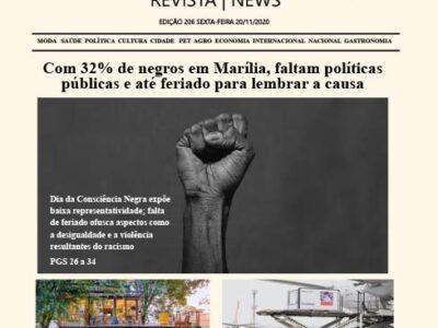 D MARÍLIA REVISTA   NEWS – EDIÇÃO 20-11-2020 – SEXTA-FEIRA