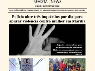 D MARÍLIA REVISTA | NEWS – EDIÇÃO 26-11-2020 – QUINTA-FEIRA