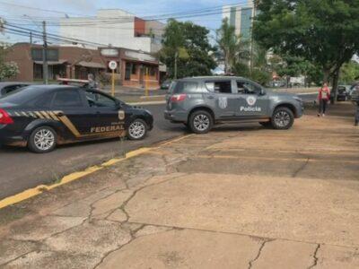 Operação da PF mobiliza 100 policiais no  combate ao tráfico de drogas na região